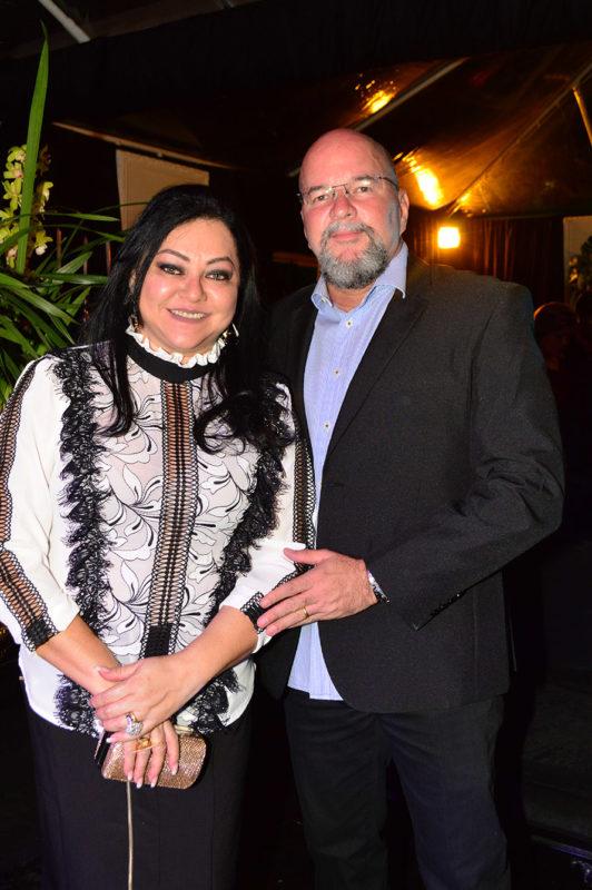 Silvana e Anderson Silva